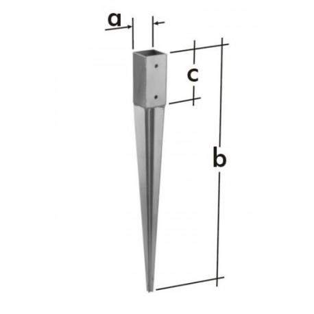 Kotwy montażowe - kotwa szpic